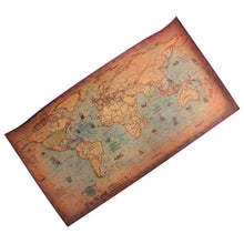 Load image into Gallery viewer, World Map Poster - Vintage Nautical