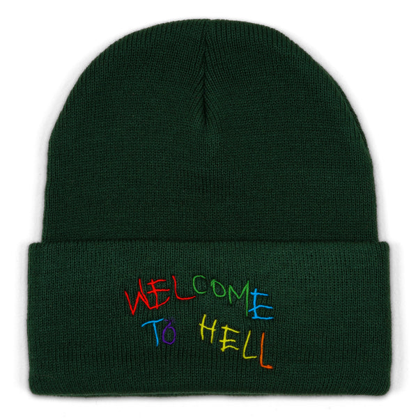 'Welcome to Hell' Beanie