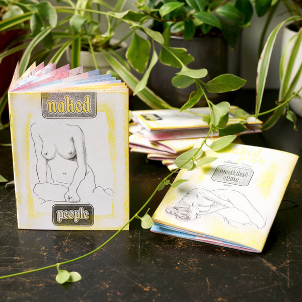 'Naked People' Risograph Zine
