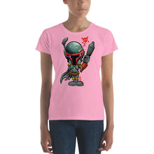 Load image into Gallery viewer, Women's Boba Fett short sleeve t-shirt