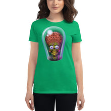 Load image into Gallery viewer, Women's short sleeve Mars Attacks! Alien t-shirt