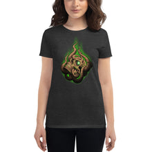 Load image into Gallery viewer, Women's short sleeve Drowned Skull t-shirt