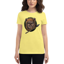 Load image into Gallery viewer, Women's short sleeve Ewok t-shirt
