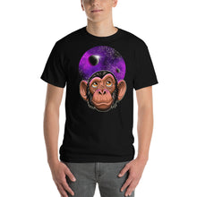 Load image into Gallery viewer, Mens Short-Sleeve Space Chimp T-Shirt