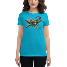 Load image into Gallery viewer, Women's short sleeve Yoda t-shirt