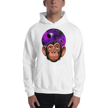 Load image into Gallery viewer, Hooded Space Chimp Sweatshirt