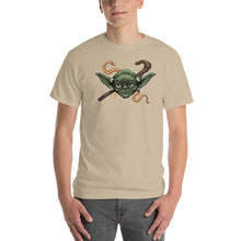 Load image into Gallery viewer, Mens Short-Sleeve Yoda T-Shirt