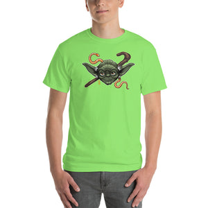 Mens Short-Sleeve Yoda T-Shirt