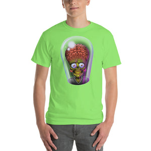 Mens Short-Sleeve Mars Attacks! Alien T-Shirt