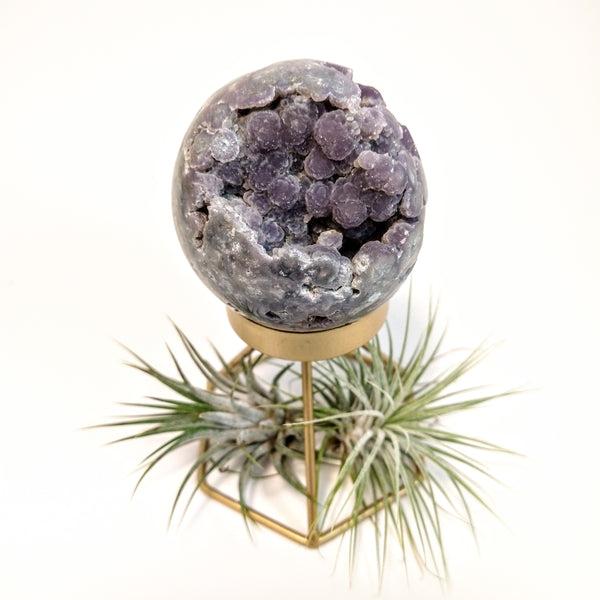 Grape Agate Sphere