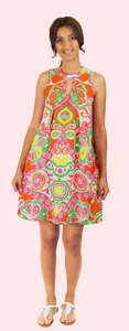 Relaxed Keyhole Dress