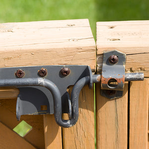 Tired of old rusty gate hardware and gates that don't close properly year round?