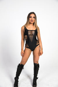 front braided bodysuit