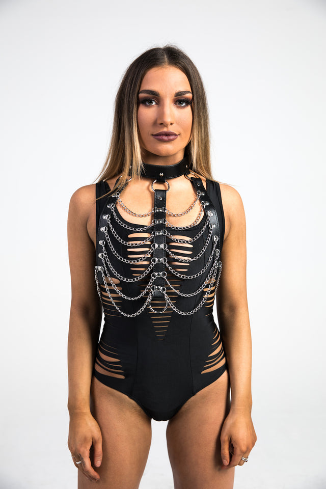 front chain neck harness