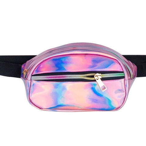 Holographic Fluro Bum Bag
