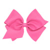 Hot Pink Grosgrain Bow