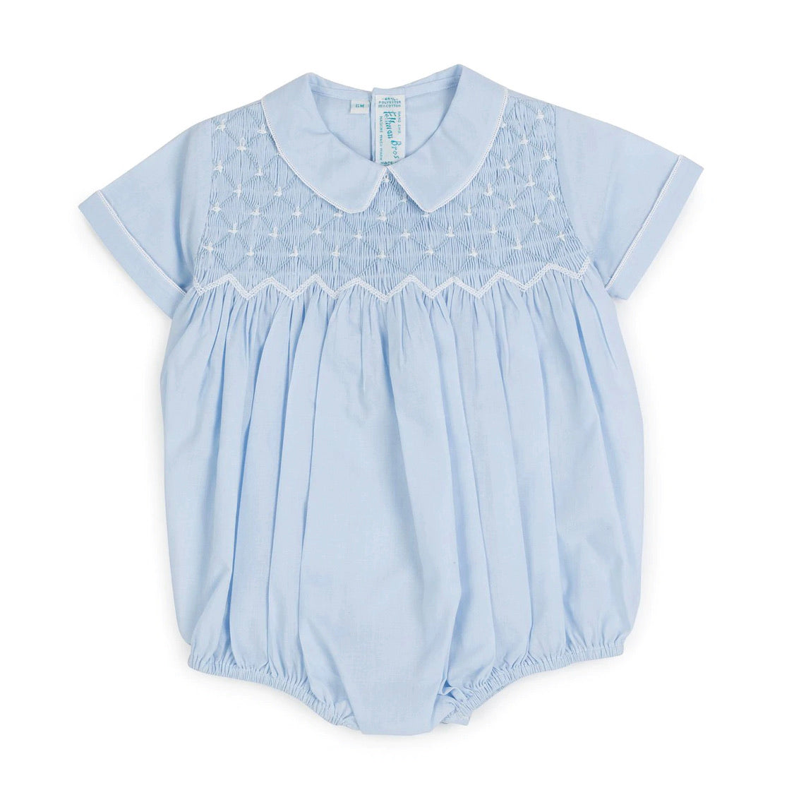 Diamond Smocked Bubble