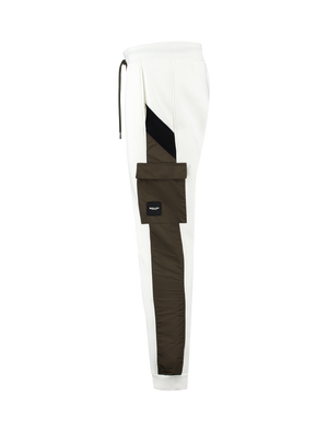 Pocket Logo Jogger - Off White
