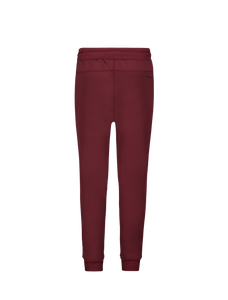 Kids Streep Joggingbroek - Bordeaux / Zwart