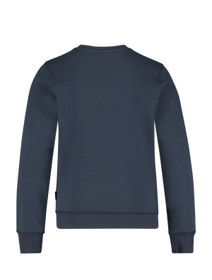 Kids Dubbel Logo Sweater - Navy