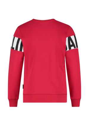 Kids Block Logo Sweater - Rood