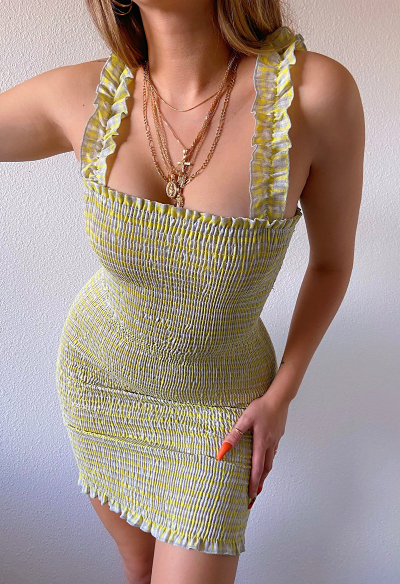 Char dress (yellow)