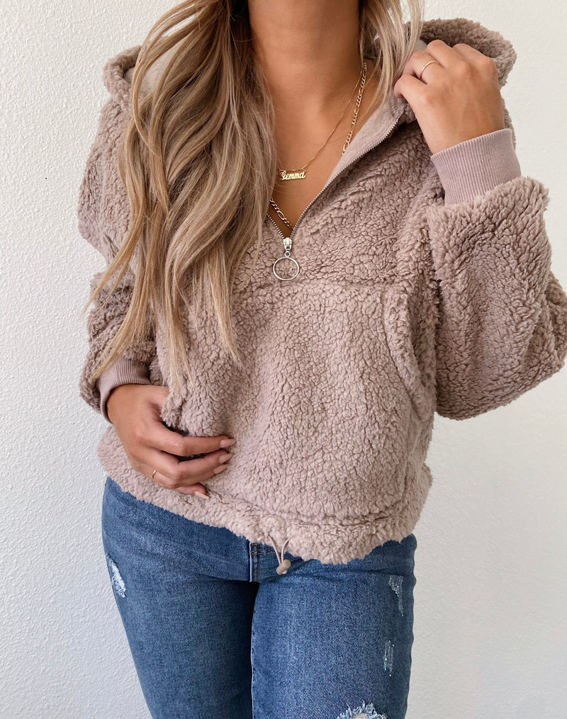 Charley sweater (latte)