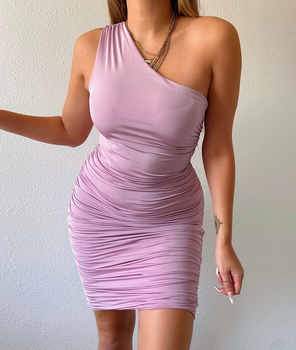 Brielle dress (lavender)