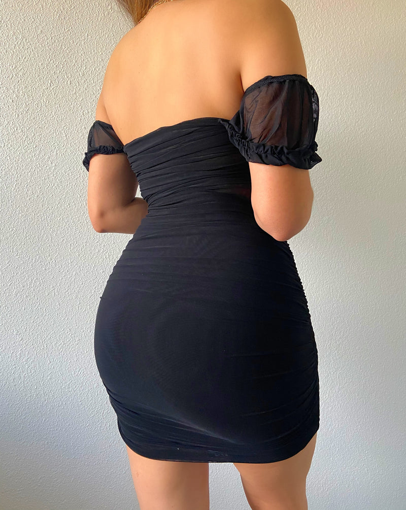 Ruby dress (black)