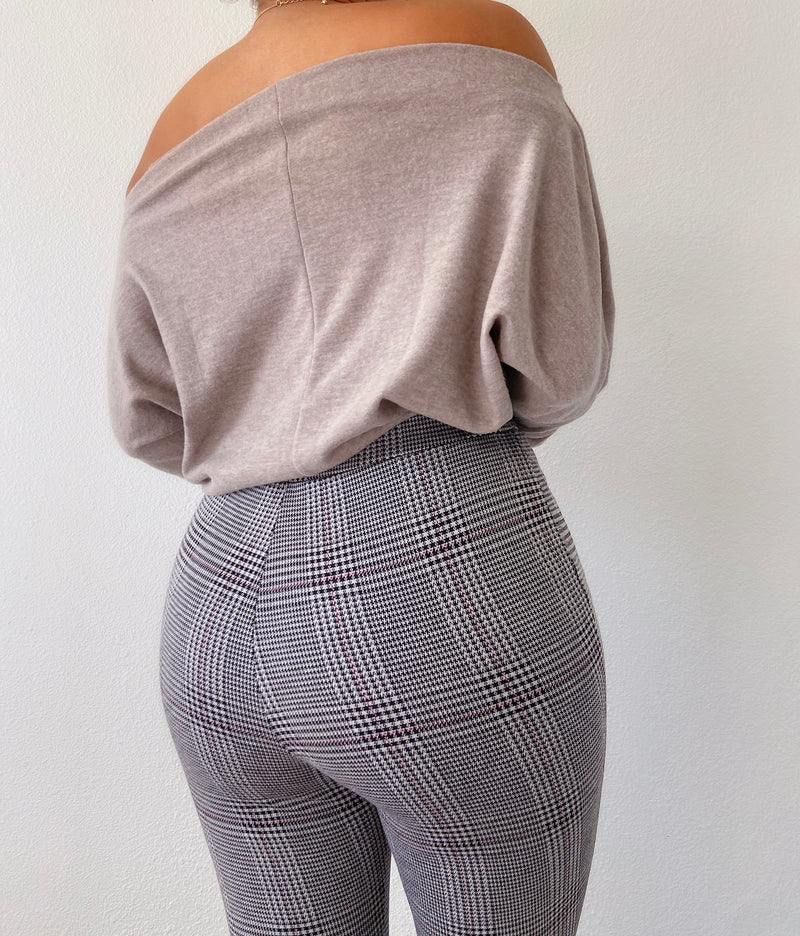 Laurel pants (plaid)