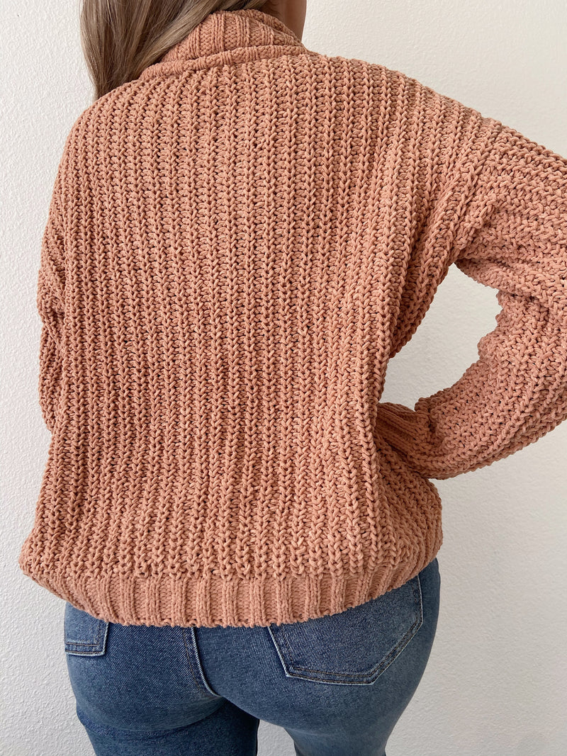 Nadia sweater (light clay)