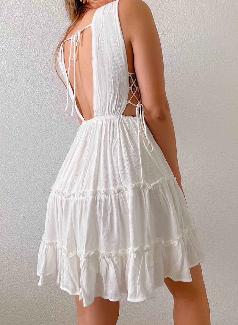 Lovie dress (white)