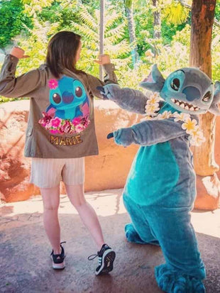 Cartoon Stitch Jacke