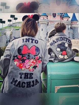 Disney Mickey und Minnie s Familienjacke