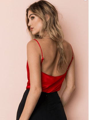 Fashion Sexy Backless  VEST