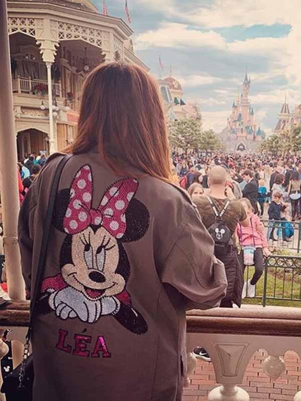 2019 neue Disney Minnie Cartoon Jacke