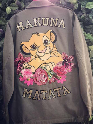 Disney Cartoon Lion King Jacke