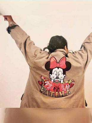 Canvas Mickey Jacke