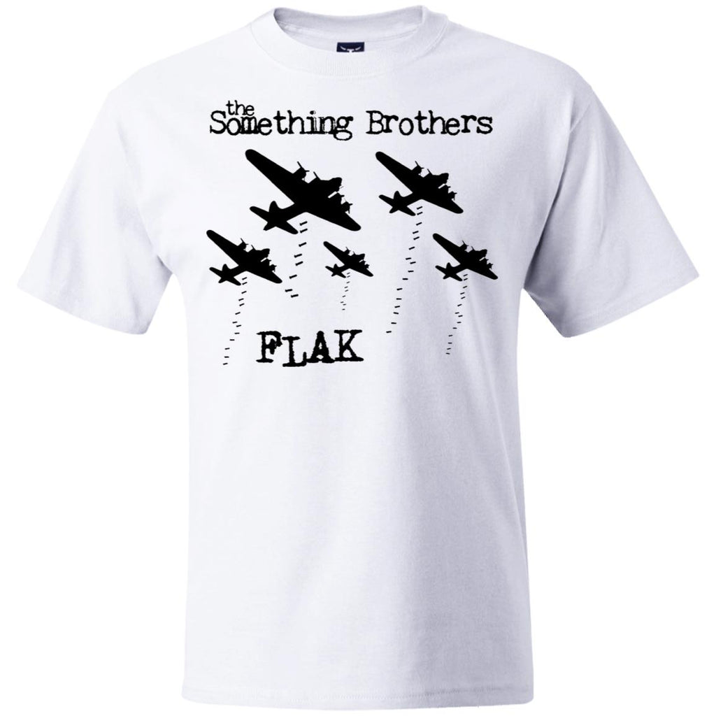 "The Something Brothers ""FLAK"" Black Bombers Beefy T-Shirt"