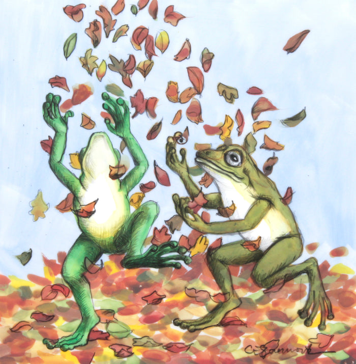 Frogs in November