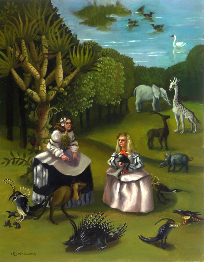 Las Meninas Adventure in the Garden