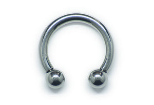 Circular Barbell - Stainless Steel