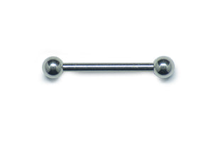 Straight Barbell - Stainless Steel