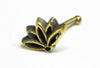 Brass Lotus Nose Pin