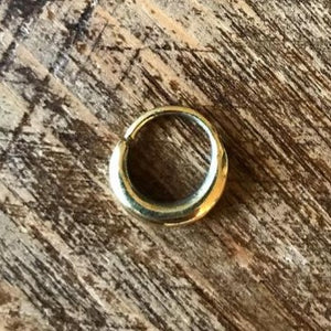 Brass Plain Septum Ring