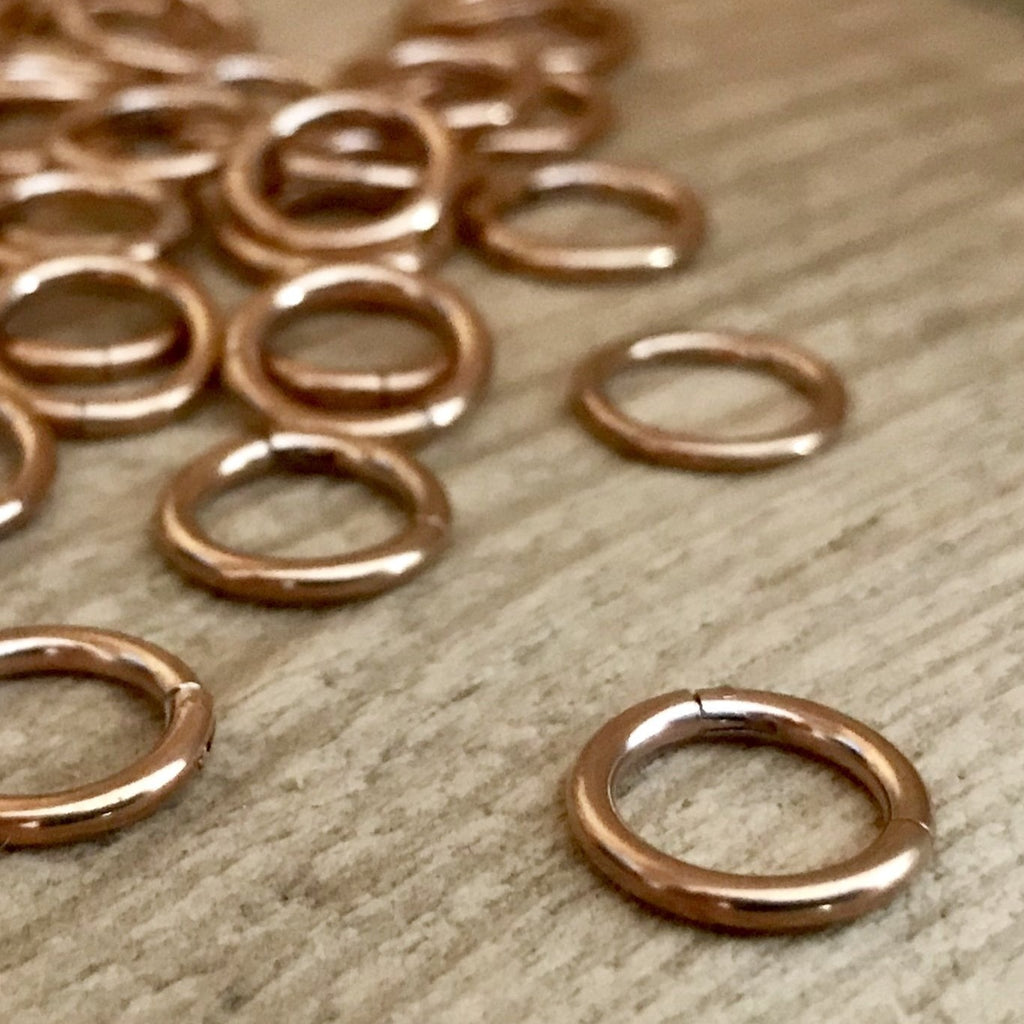 Hinged Segment Ring - Rose Gold PVD