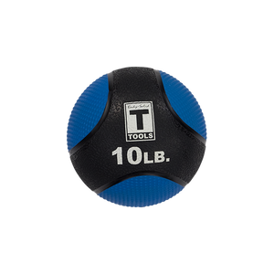 Rubber Medicine Ball - 10 Lb Blue