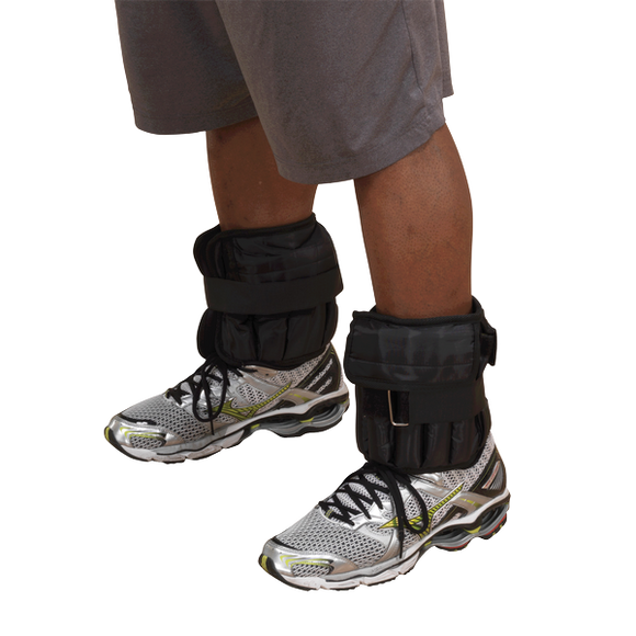 20 Lb Adjustable Ankle Weights - Pair