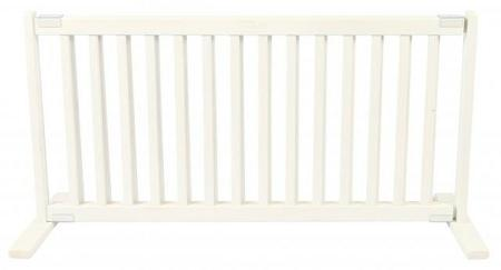 Free Standing Pet Gate - Large/Warm White