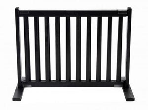 Free Standing Pet Gate - Small/Black
